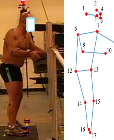 Vision-based ergonomic assessment through automated pose detection