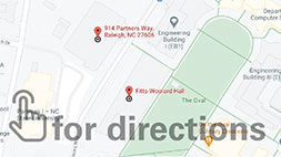 NC State campus parking map - click for directions