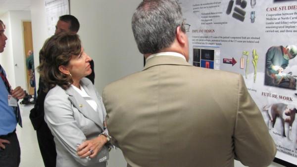 Dr. Paul Cohen and Senator Kay Hagan
