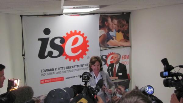 Senator Hagan Press Conference