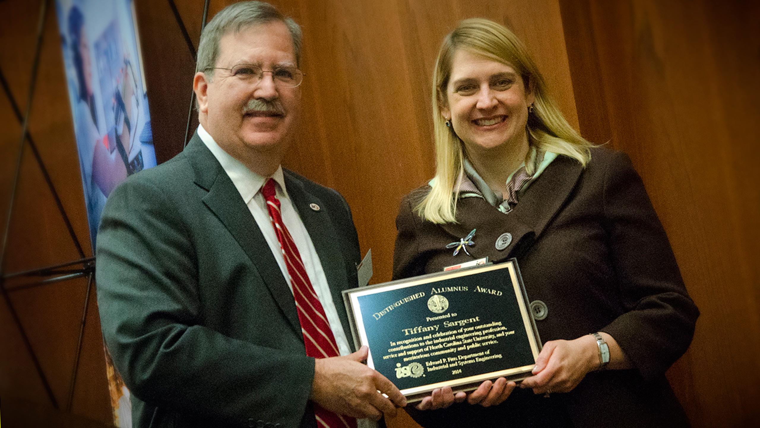 Distinguished Alumni Tiffany Sargent