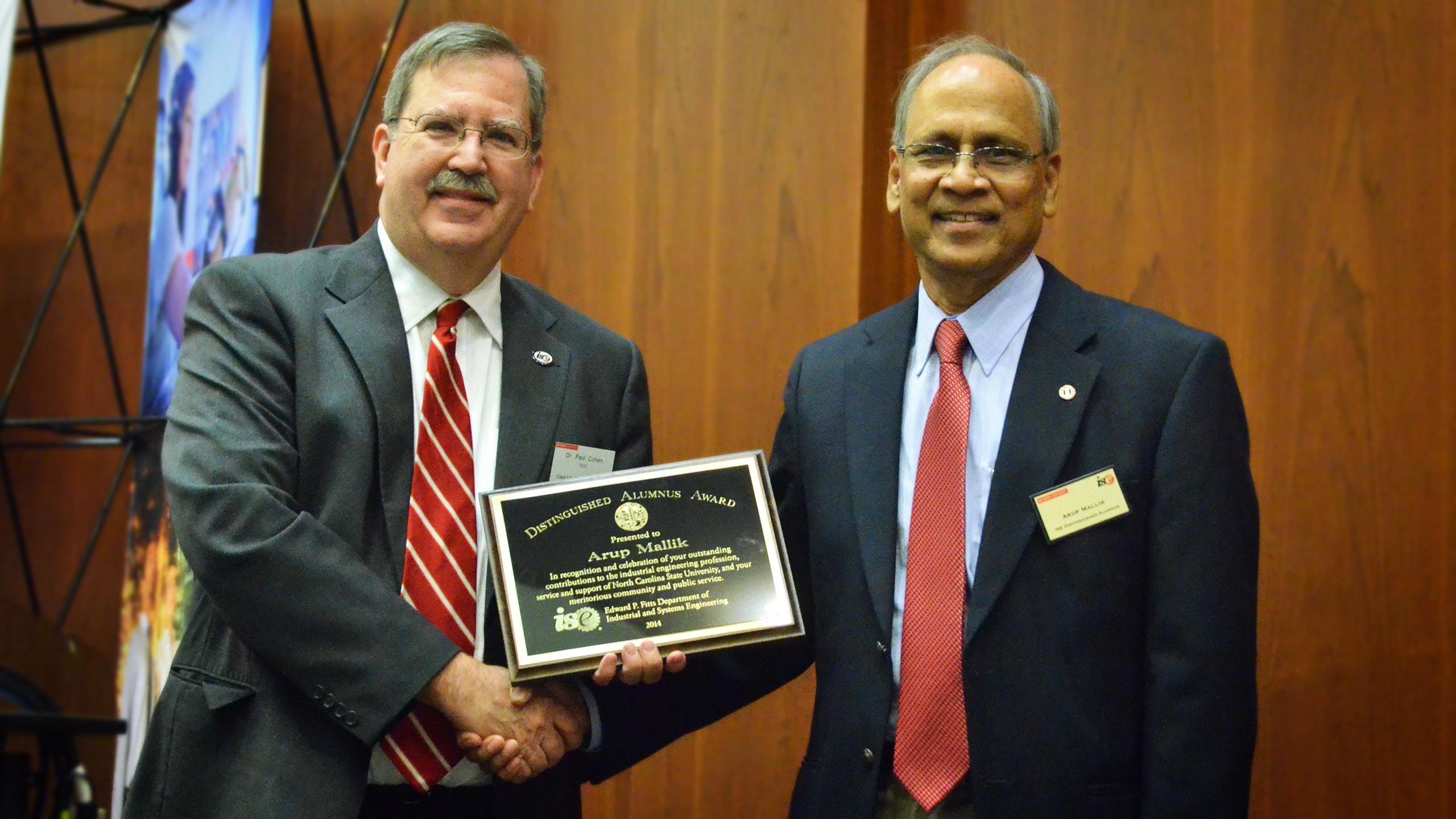 Distinguished Alumni Dr. Arup Mallick