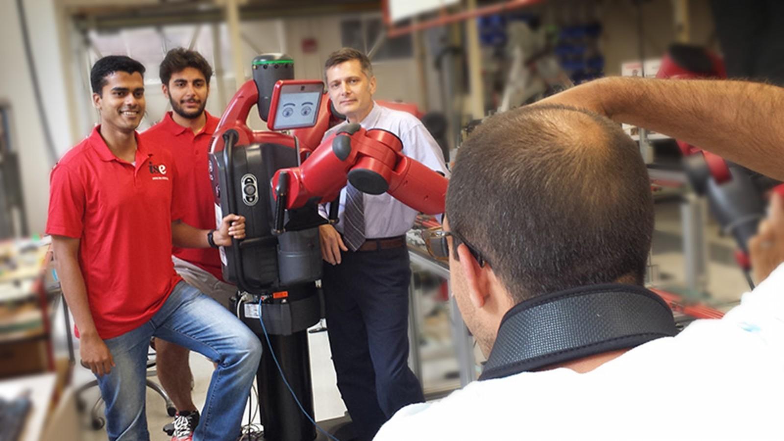 Rethink Robotics to Make ISE Video