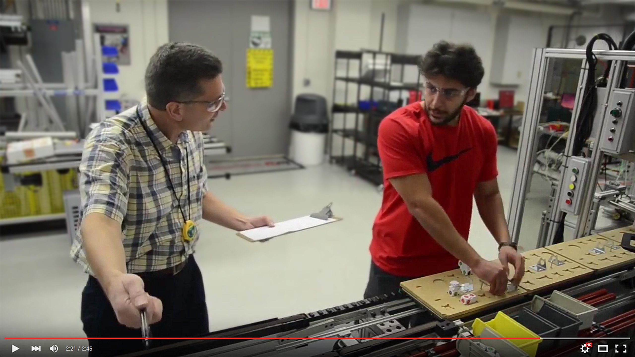Robotics team makes it to the finals in the inaugural Rethink Robotics Video Challenge