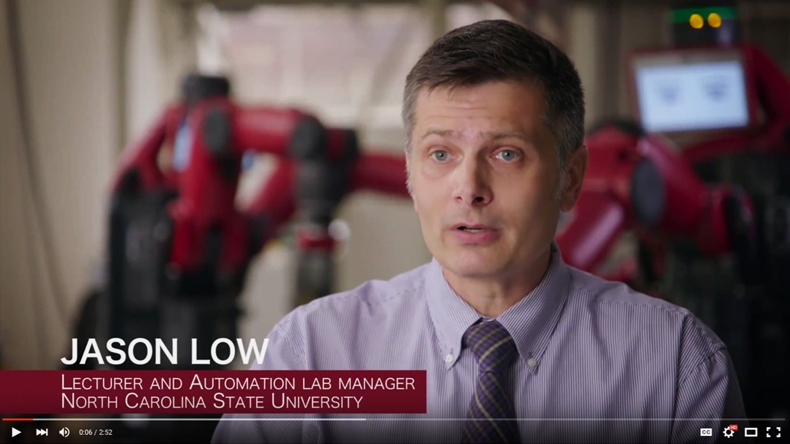 ISE Talks Robots and Jobs