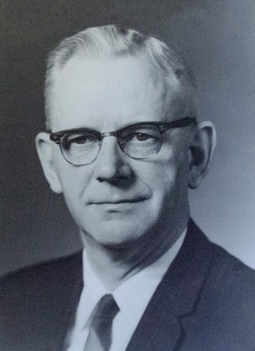Clifton A. Anderson | ISE Department Head 1957-1973