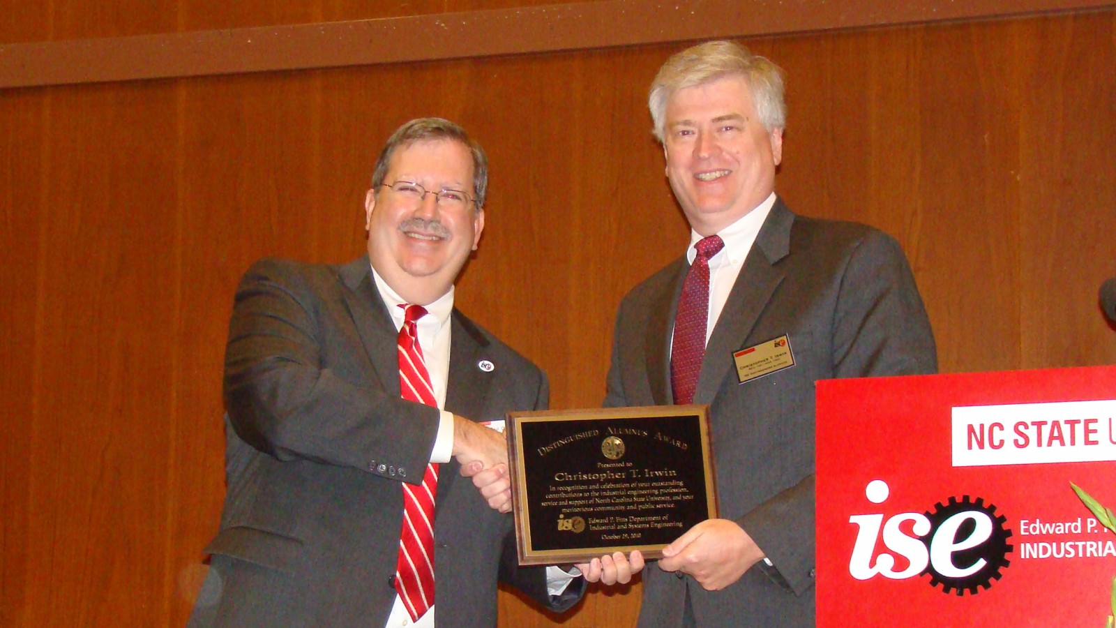 Distinguished Alumni Luncheon 2010