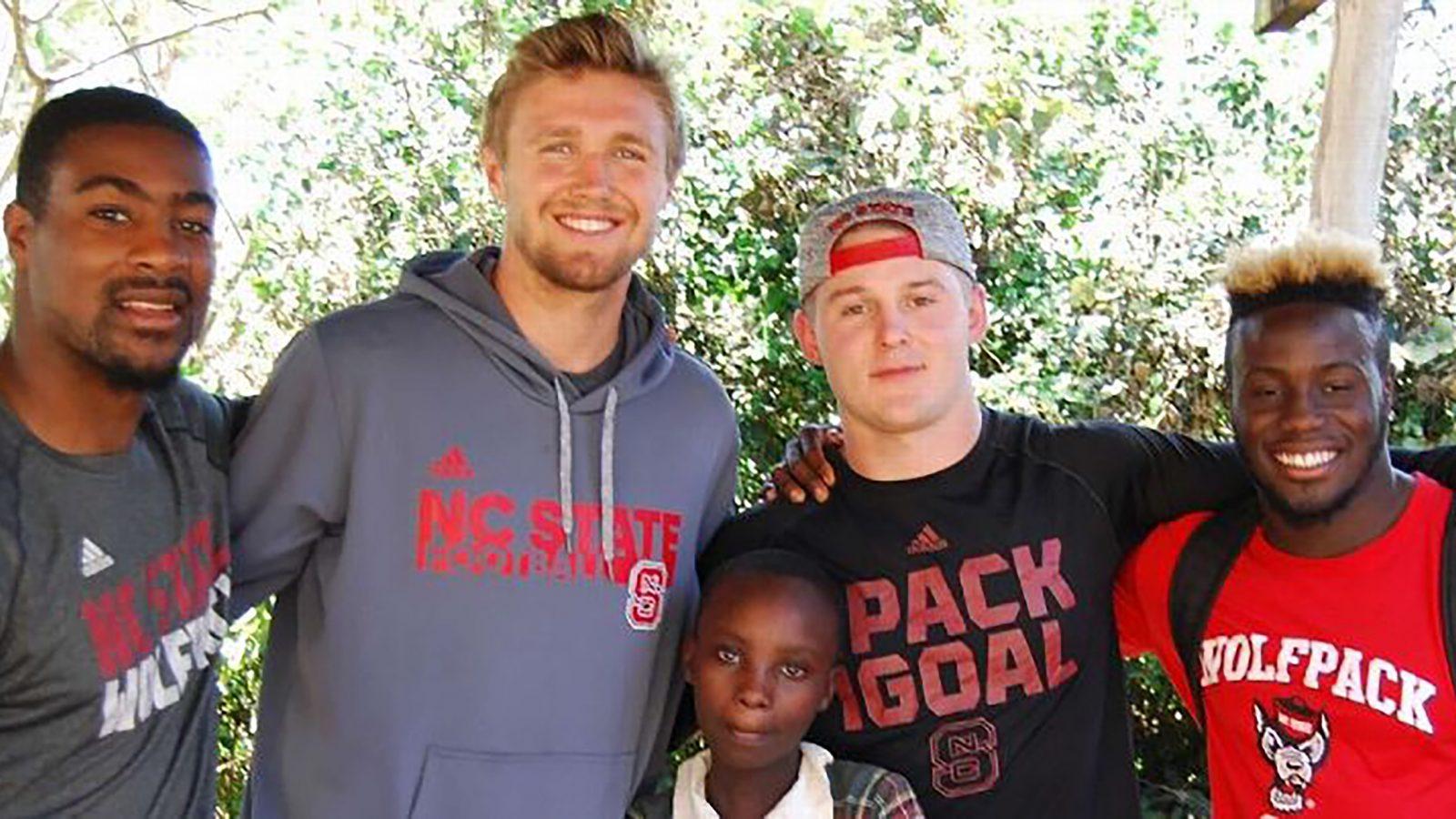 AJ Cole III spends his Spring Breaks in Kenya
