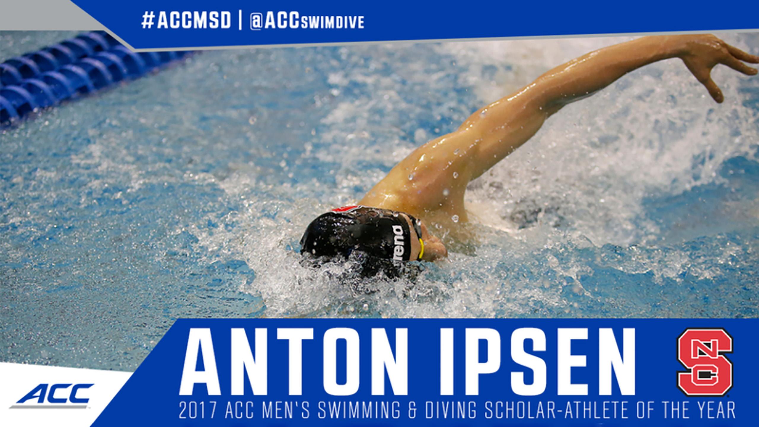 Ipsen Named 2017 ACC Scholar-Athlete of the Year