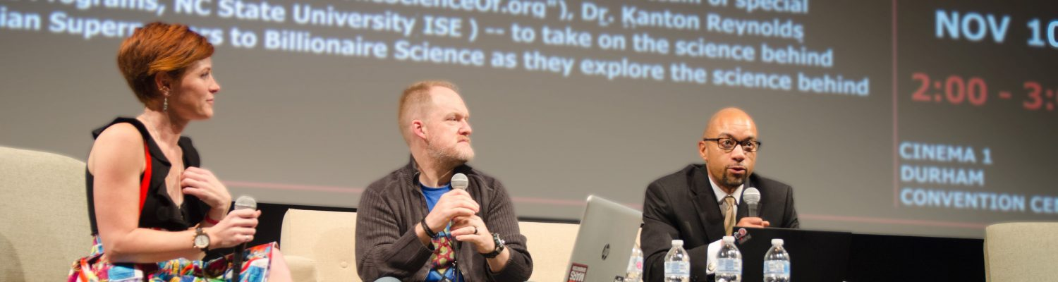 ISE Goes to Comicon | Dr. Kanton Reynolds | Dr. Karen Chen