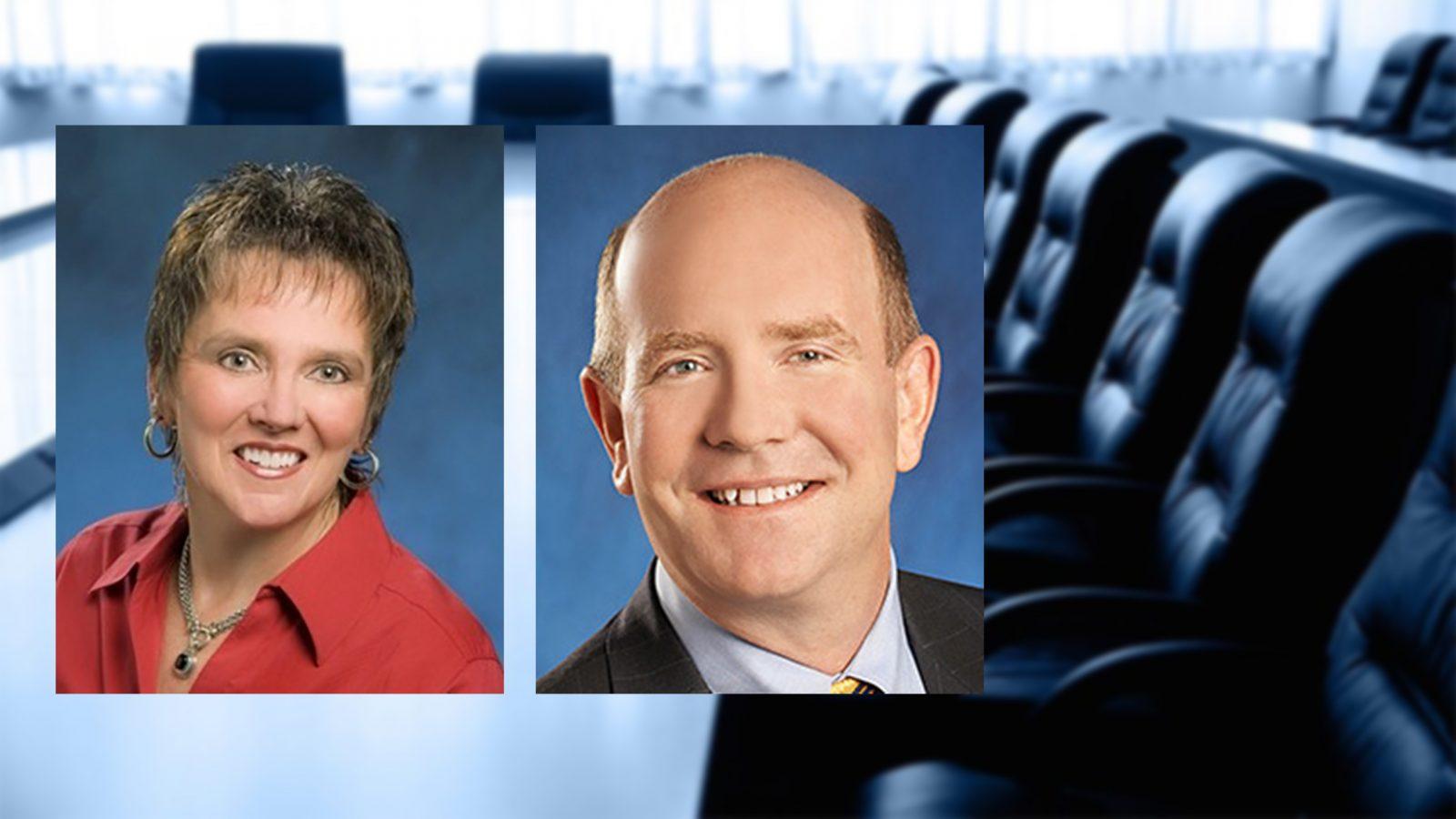Welcome Board Members | Cheryl Doninger | Stuart Nisbet
