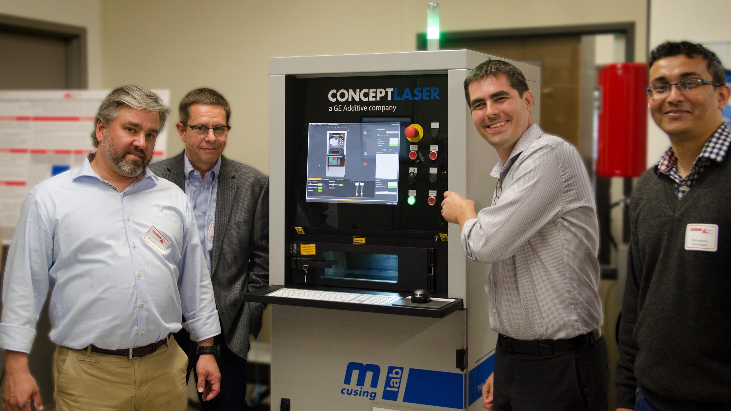 CAMAL Unveils 3D Printer at Symposium