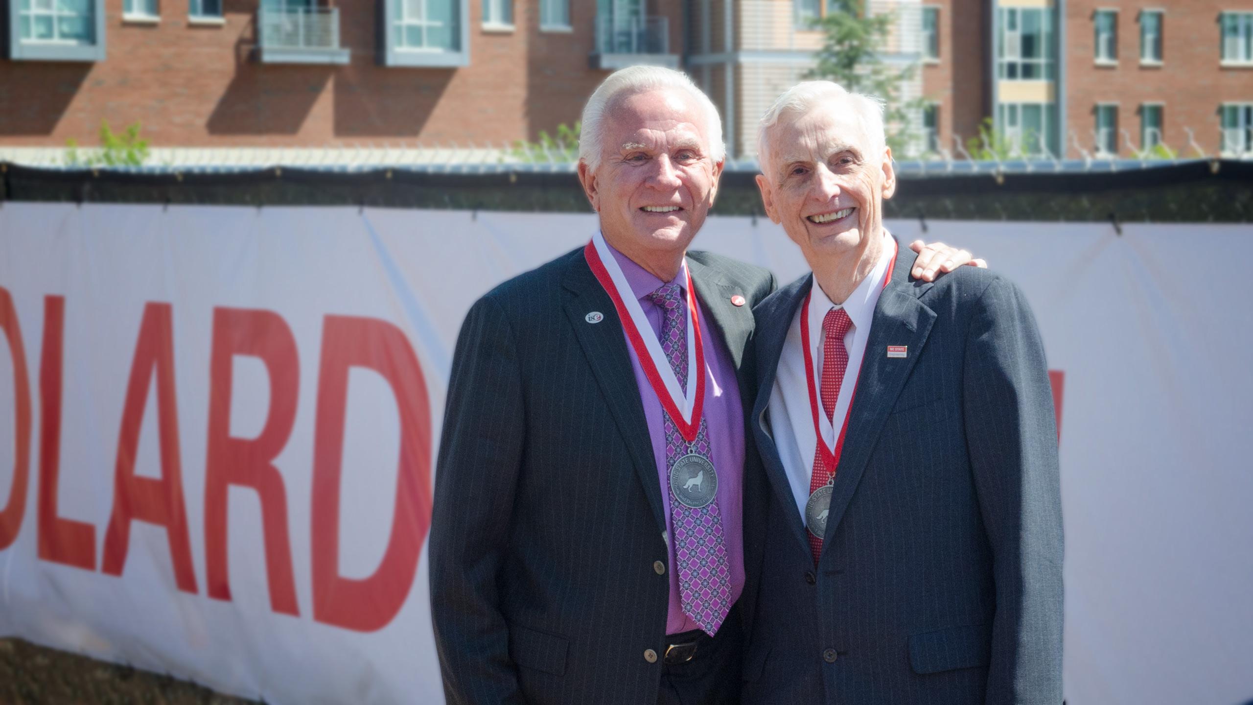 Edward Fitts and Ed Woolard, Jr.