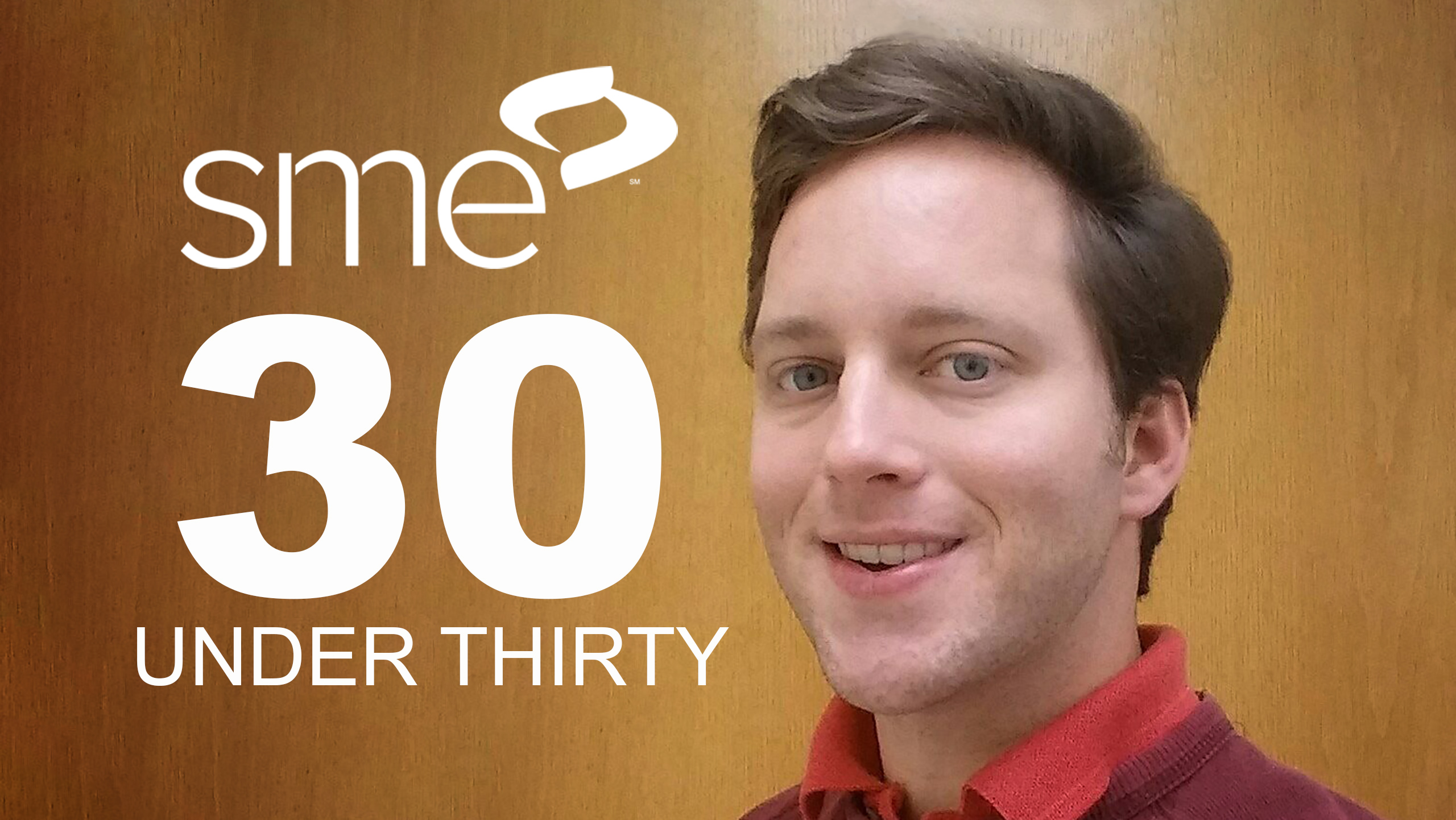 Will McCall Makes SME's 30 Under 30 List