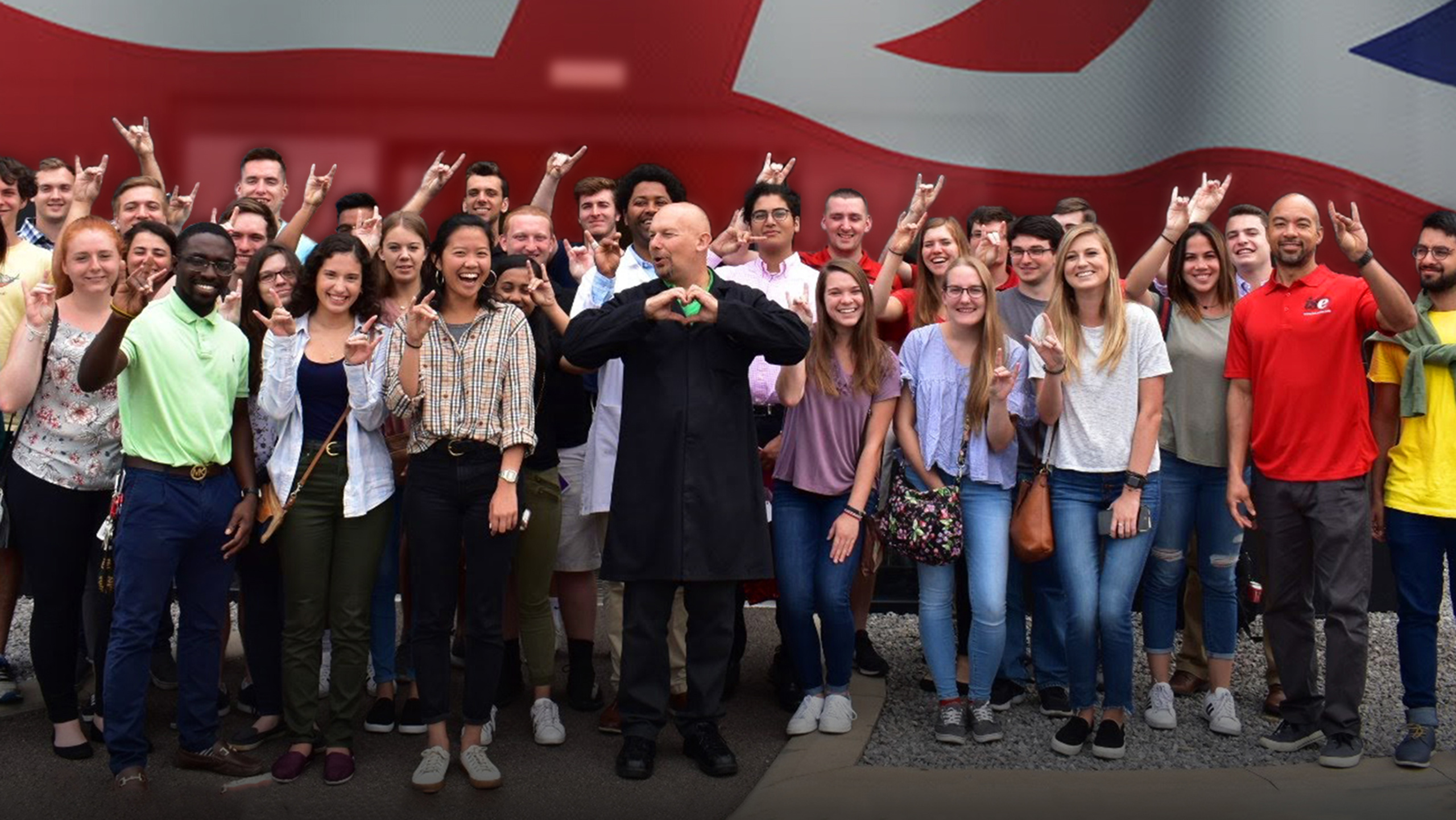 Student's Having a Butcher's at London