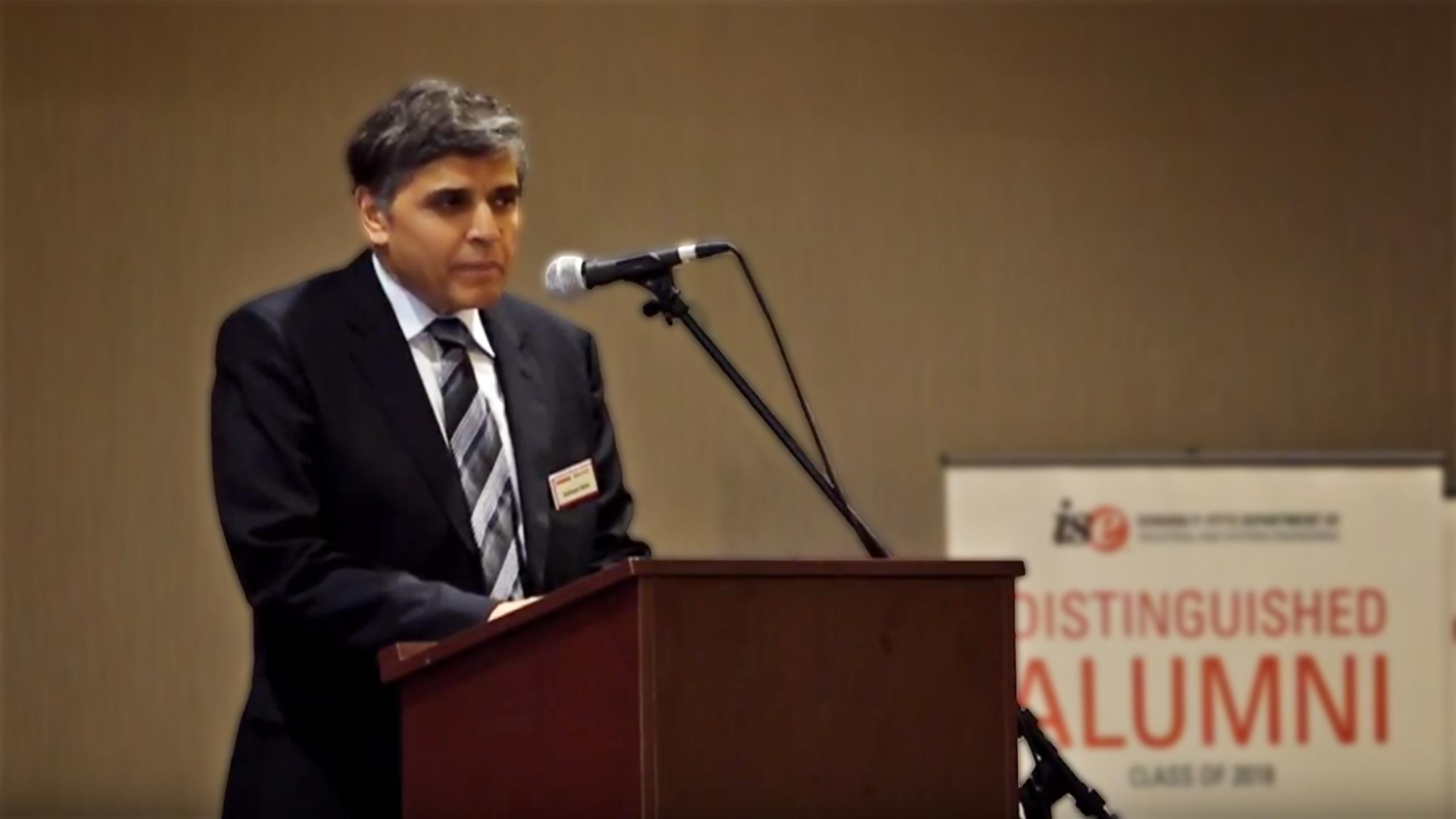 2018 Distinguished Alumni | Dr. Subhash Sarin