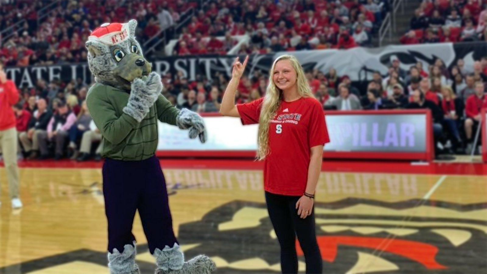 Maddie Morello | Caterpillar Scholar-Athlete | January 12, 2019