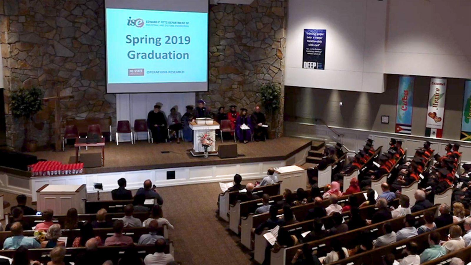Spring 2019 Graduation Ceremony