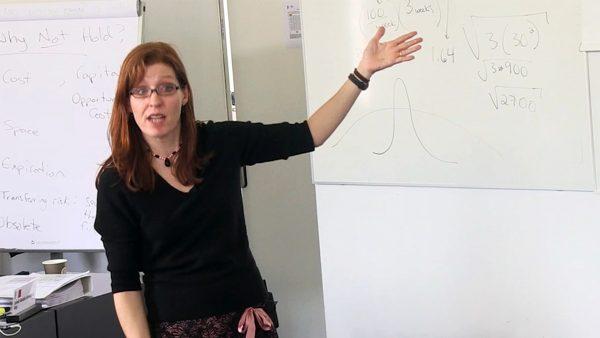 Julie Swann Teaching Class