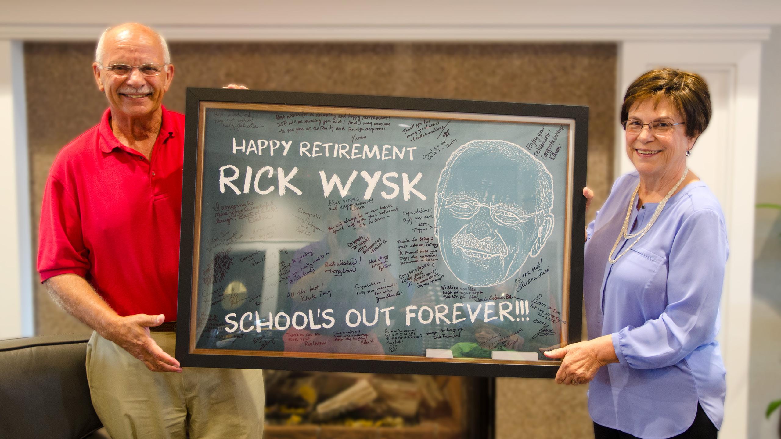 Rick Wysk Retirement Party 2019