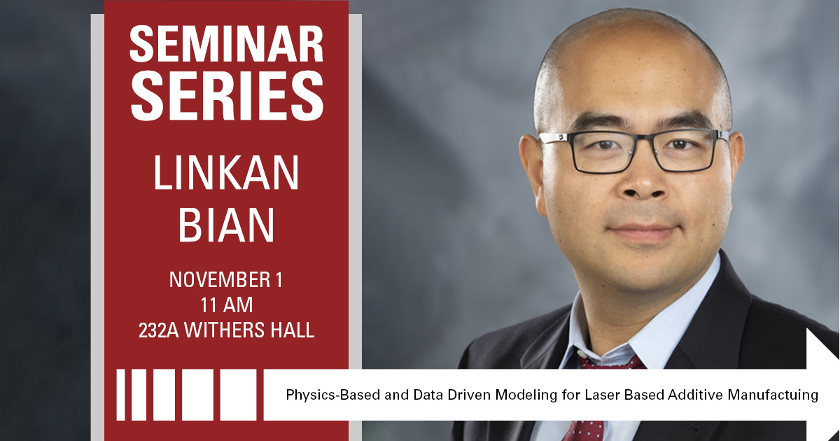 SEMINAR SERIES | Linkan Bian