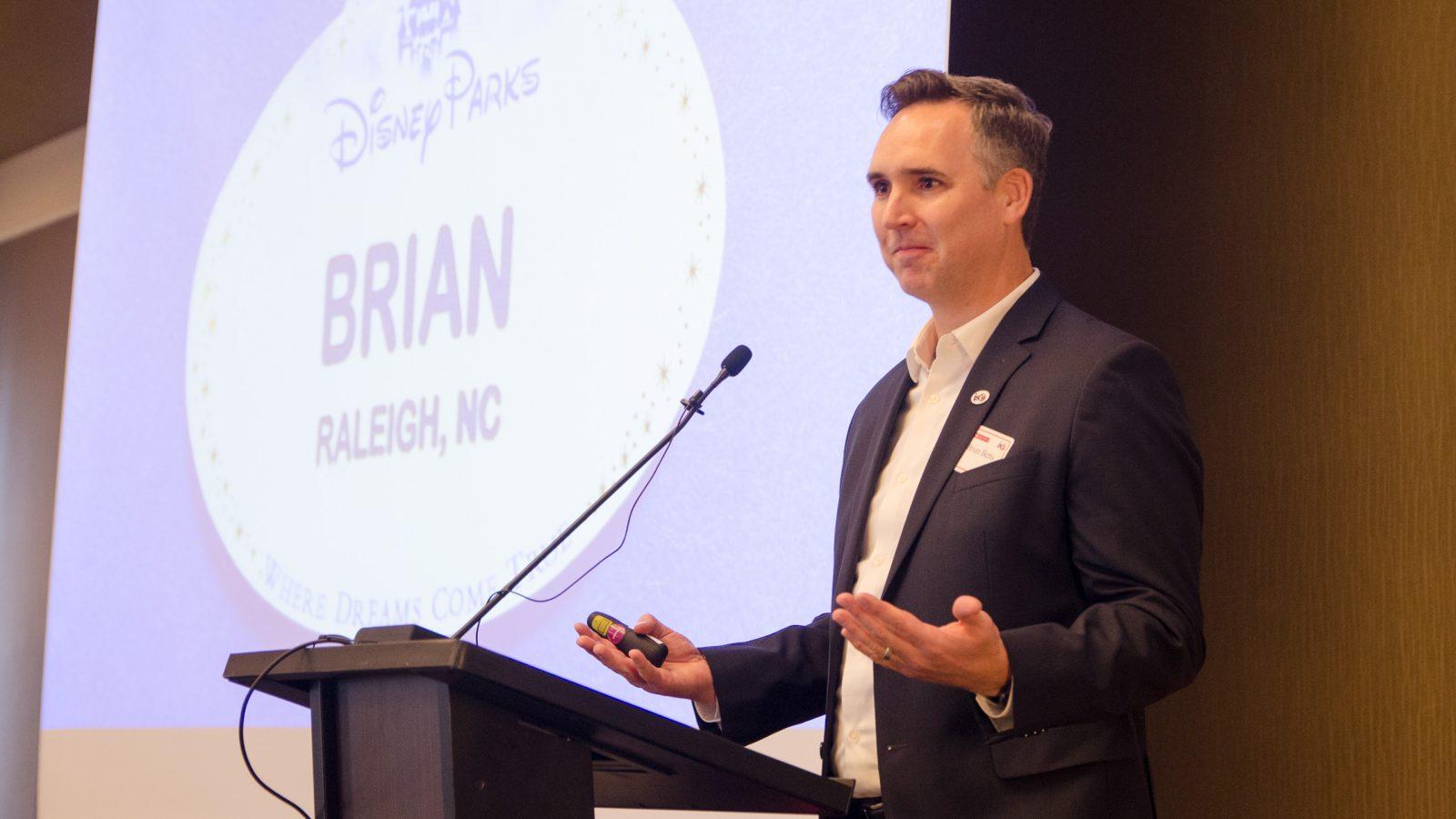 2019 Alumni Hall of Fame Breakfast | Brian Betts