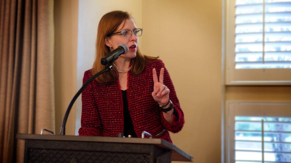 ISE Department Head Dr. Julie Swann