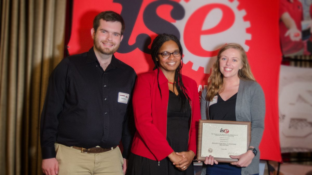 Dr. Julie Ivy with students