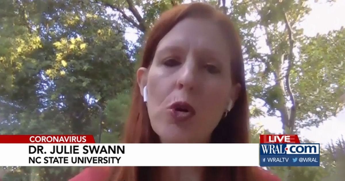 Swann Talks with WRAL about Moving Classes Online