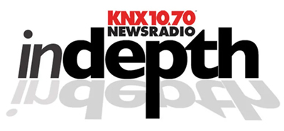 KNX 1070 News Radio | inDepth Podcast Logo