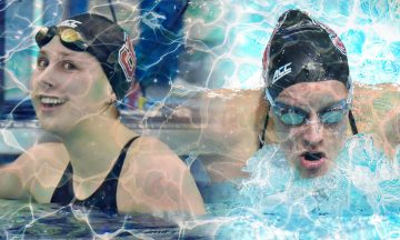 Two Swimmers Kate Moore and Kylee Alons) named to the 2021 All-ACC Swimming and Diving Academic Team