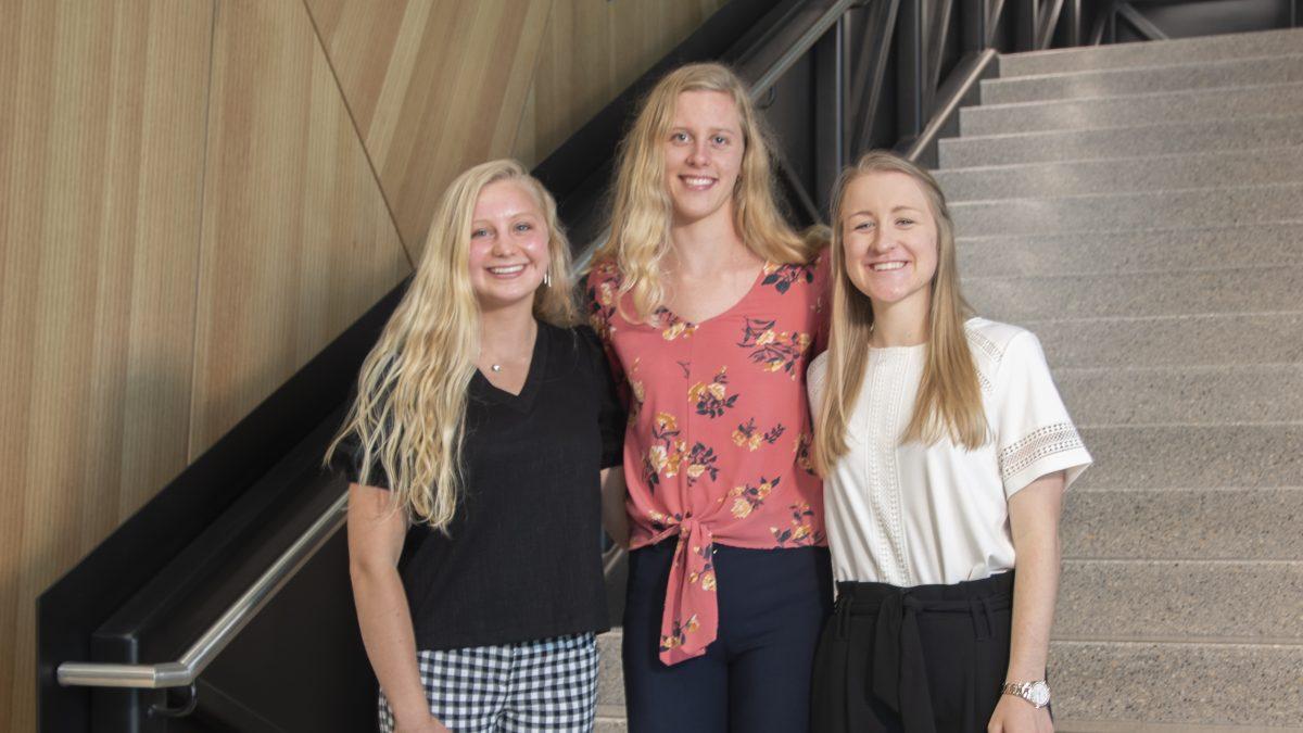 Durham VA Dermatology | Kylee Alons, Maddie Morello, and Jessica Williams