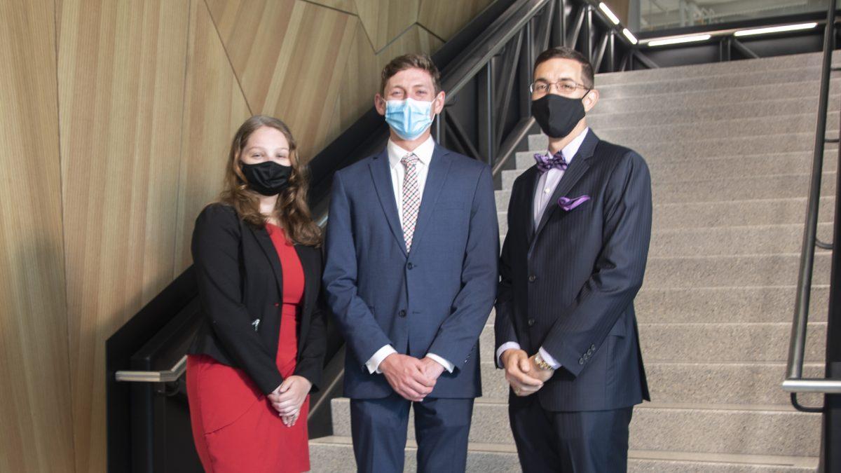 UNC Rex Cancer Center | Kaitlyn Roberts, Matt Traenkle, and John Watson