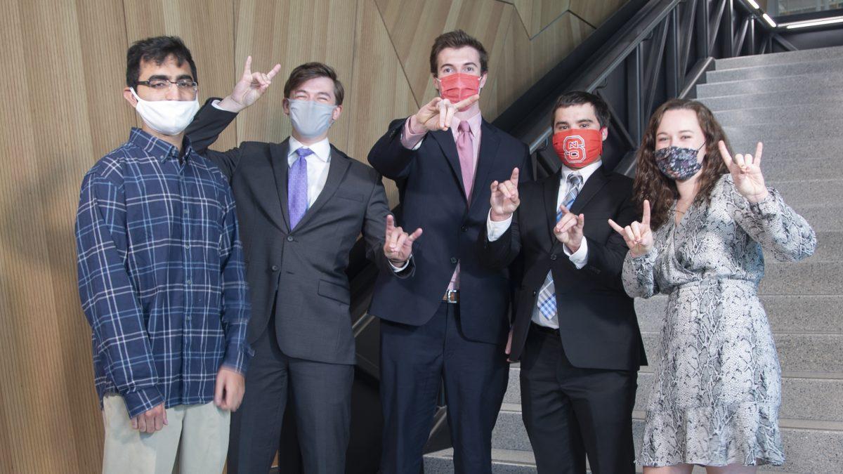 Team Manhattan Associates showing their Wolfpack pride