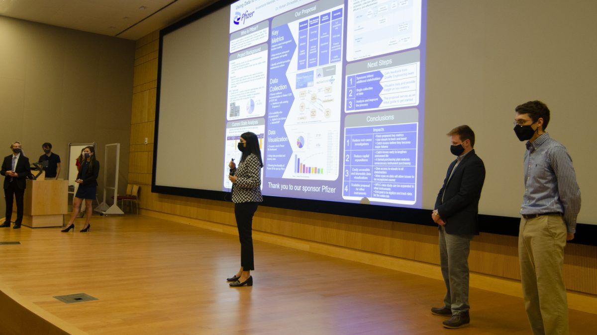 Team Pfizer - A presenting their research