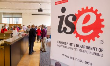 ISE Students and faculty participating in the Fall 2021 Engineering Design Day