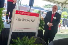 Fitts Woolard Hall Groundbreaking Ceremony 2018 - 013