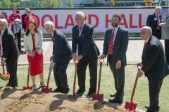 Fitts Woolard Hall Groundbreaking Ceremony 2018 - 030