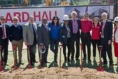 Fitts Woolard Hall Groundbreaking Ceremony 2018 - 036